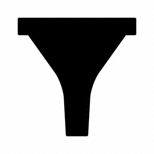 conversion, filter, funnel, lead, marketing, sort, tools icon