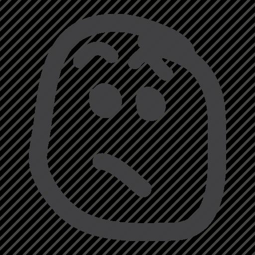 emoticon, eyebrows, quizzical, smiley, wtf icon