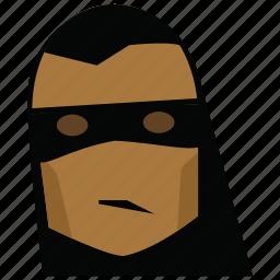 face, funny, funny man, man, mask, person, zorro icon