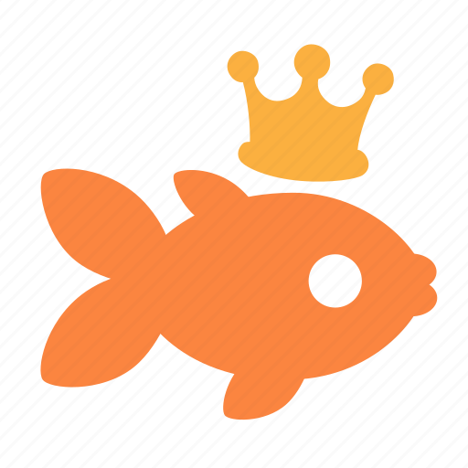 animal, fable, fish, goldfish, magic, wish, wizard icon