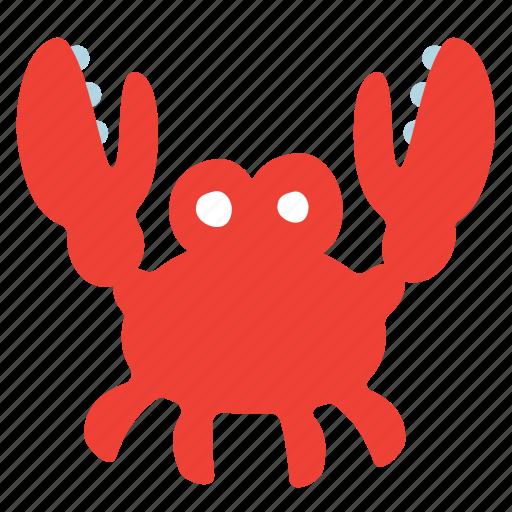 animal, crab, food, ocean, sea, seafood icon
