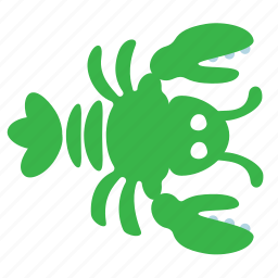 crayfish, lobster icon