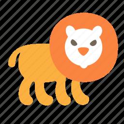 afrika, animal, king, lion, predator icon