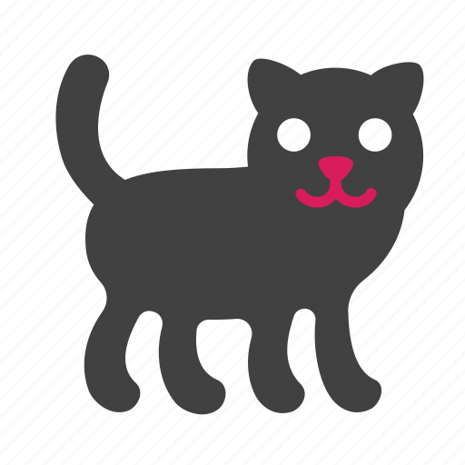 animal, cat, cute, kitty, panther, pet icon