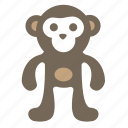 animal, ape, macaque, monkey, orangutan icon