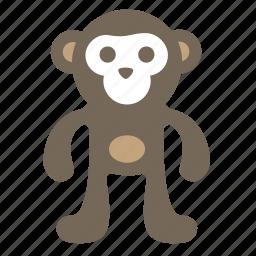 animal, ape, macaque, monkey, orangutan icon