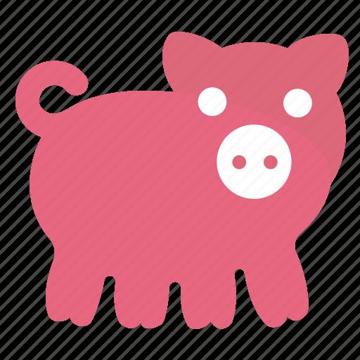 animal, pig, piggy, pork, swine icon