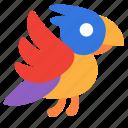 bird, parrot icon
