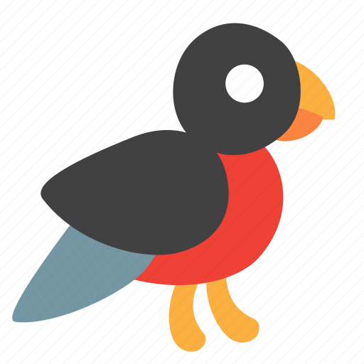 bird, bullfinch icon