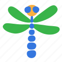 animal, dragonfly, insect, predator icon