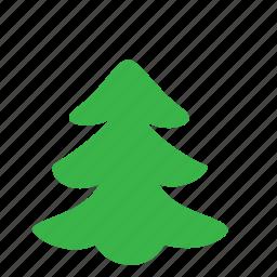 environment, fir, tree icon