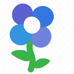 ecology, environment, flower, nature, pansy, plant icon