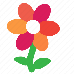 ecology, environment, flower, gerbera, nature, plant icon