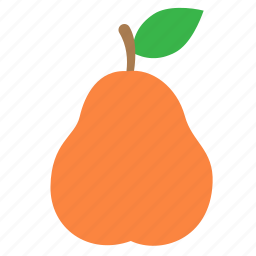 fruit, pear icon