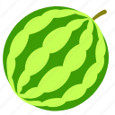 food, watermelon icon