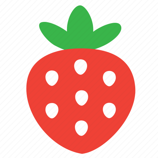 berry, food, nature, strawberry icon