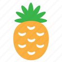 food, fruit, pineapple, plant, sweet icon