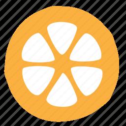 citrus, food, lemon, segment, slice icon