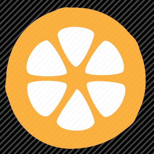 lemon, slice icon