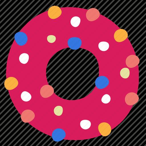 donut, food icon