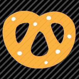 bagel, baking, food, krendel, pretzel icon