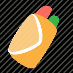 fast, fastfood, food, grill, meat, shawarma, twister icon