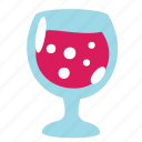 champagne, drink, food, glass, juice, soda, wine icon