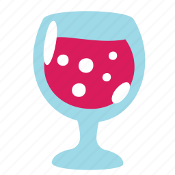 champagne, drink, food, glass, juice, soda, wine icon