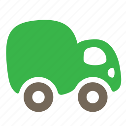 car, delivery, lorry, transport, truck, vehicle icon