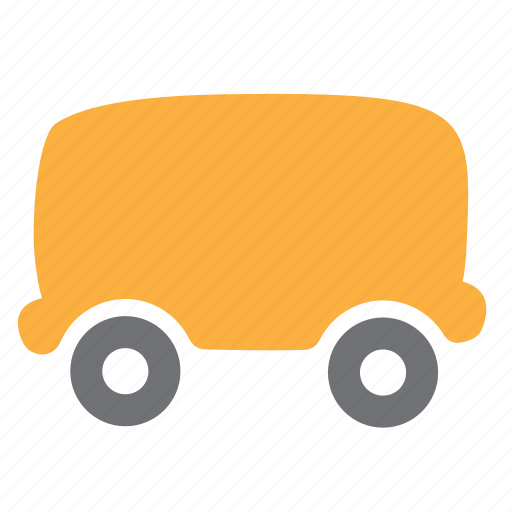 cargo, delivery, logistics, railroad, train, vehicle, wagon icon