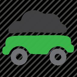 cargo, logistics, open, railroad, train, vehicle, wagon icon