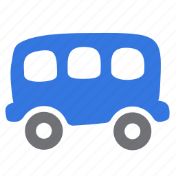 passenger, public, railroad, train, vehicle, wagon icon