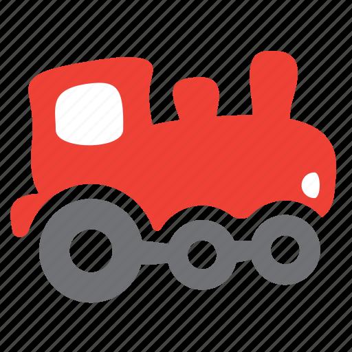 engine, locomotive, passenger, railroad, train, vehicle icon