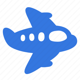 flying, plane, transport, travel, trip icon