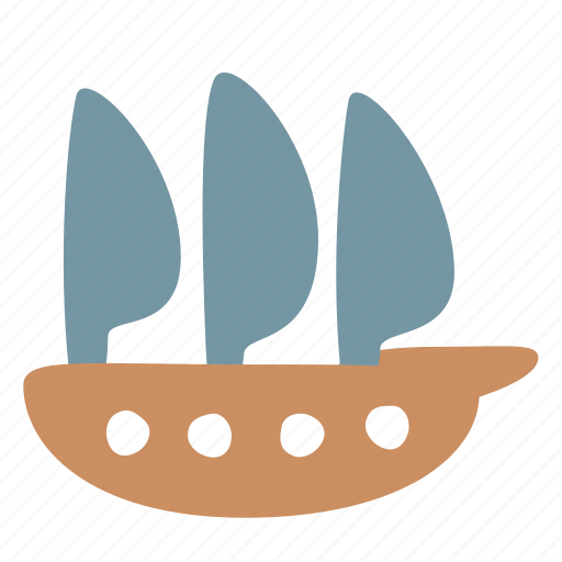 boat, ship, transport icon
