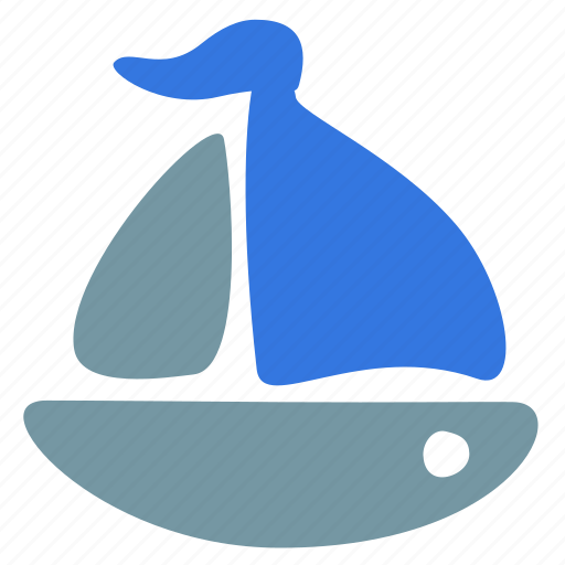 boat, sailfish, sailing, ship, transport, travel icon