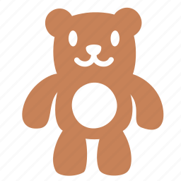 baby, bear, friend, gift, present, teddybear, toy icon