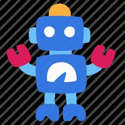 baby, friend, gift, present, robot, samodelkin icon
