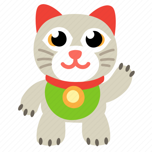 cat, clients, japan, maneki, maneko, neko, welcome icon