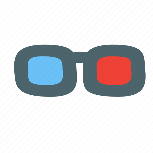 dimensions, eyeglasse, glasses, spectacles, stereo icon
