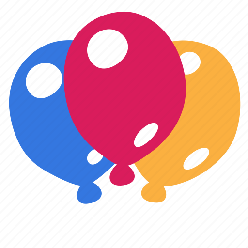 balloon, baloons, celebrate, congratulation, gift, holiday, party icon