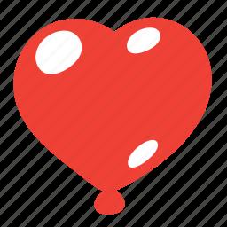 balloon, baloons, gift, heart, holiday, love, present icon