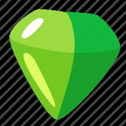 adamant, brilliant, diamond, emerald, jewel, stone icon