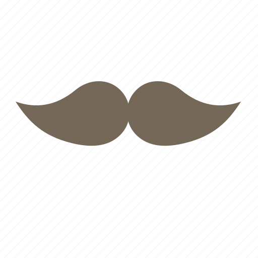 hipster, male, man, mustache, whisker icon