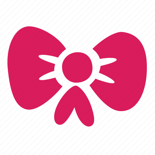 bow, knot, present, ribbon, tape icon