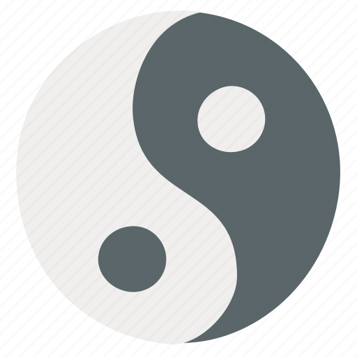 Yang, yin, yin yang icon - Download on Iconfinder