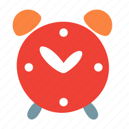 alarm, clock, deadline, time, timepiece, watch icon