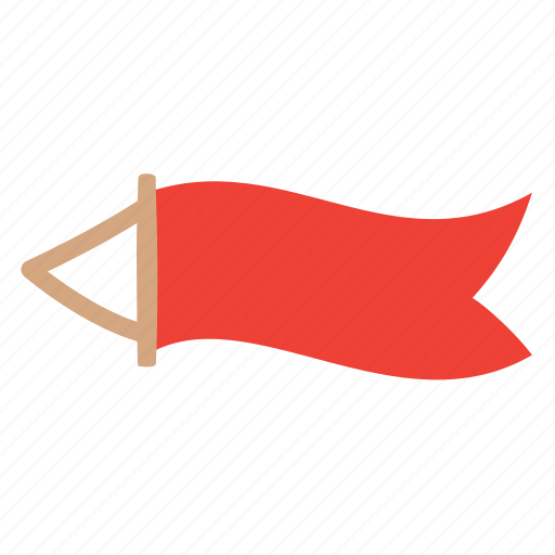 advertise, banner, flying icon