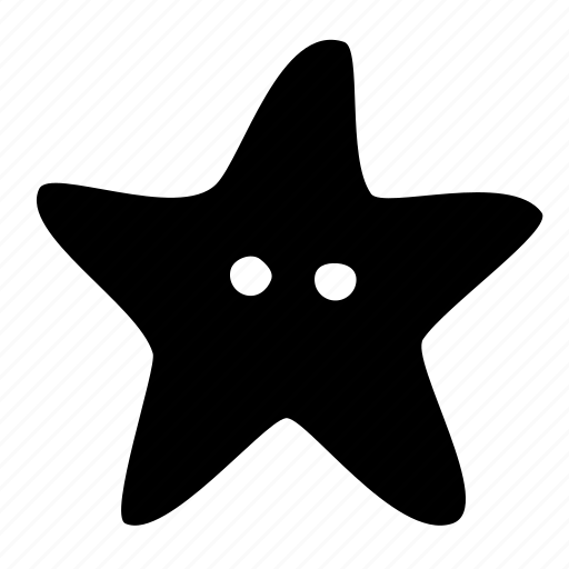 animal, ocean, sea, star, starfish icon