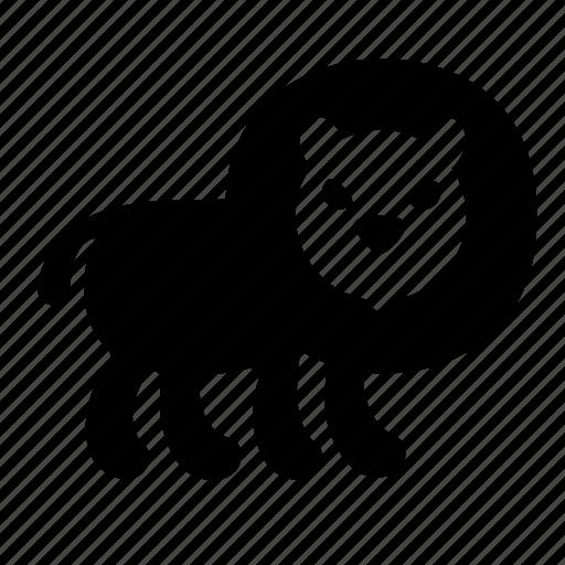 king, lion icon